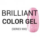 BRILLIANT COLOR GEL (series 900) Gekleurde gels 901-933 (briljant)